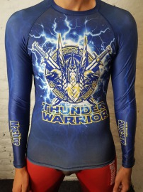 Rashguard MACHINE Thunder Warrior dl.rukáv