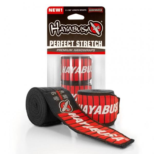 Bandáže Hayabusa Perfect Stretch - Černé