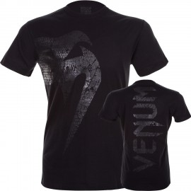 """Tričko VENUM """"Giant"""" - matně černé"""