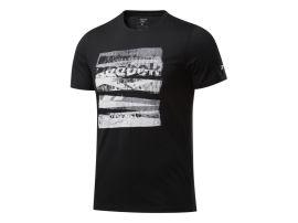Pánské tričko REEBOK CBT CORE BOXING - černé