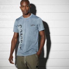 REEBOK Pánské tričko COMBAT - modré