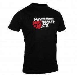 Tričko Machine FIGHT - černé
