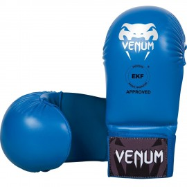 Karate rukavice VENUM bez prstů - modré