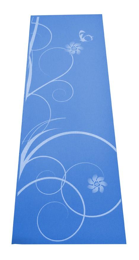 Gymnastická podložka SPARTAN Yoga Matte - modrá
