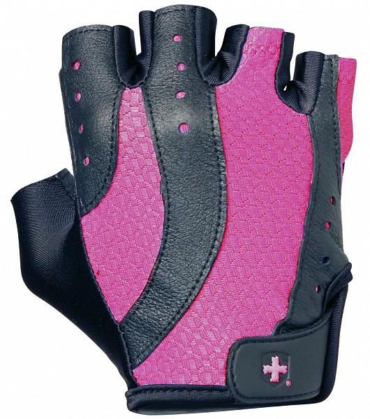 Dámské fitness rukavice PRO - růžové
