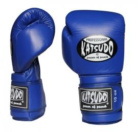 KATSUDO Boxerské rukavice PROFESIONÁL II - modré