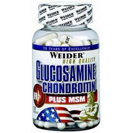 Weider, Glucosamine Chondroitin + MSM, 120 tablet