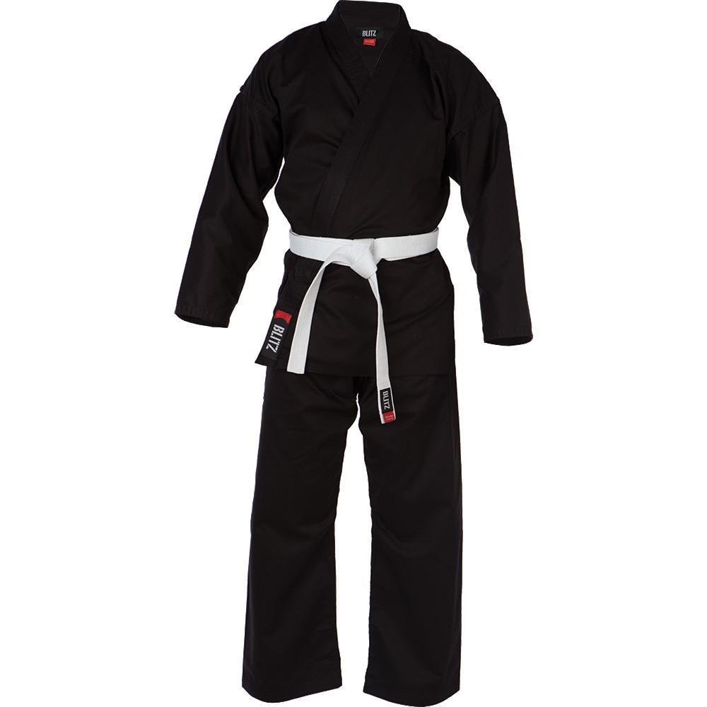 Dětské Kimono BLITZ Student - černé