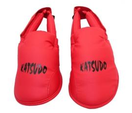 Chrániče nártů Katsudo LIGHT - červené