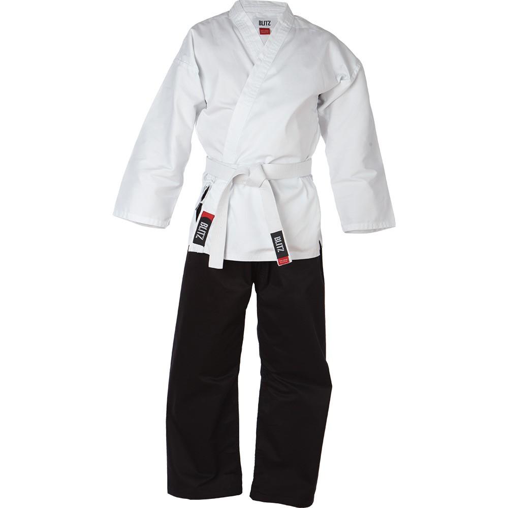 Kimono BLITZ Student - černobílé