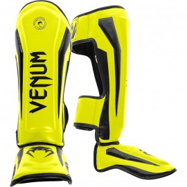Chrániče holení VENUM ELITE - neonově žluté