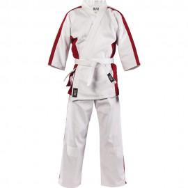 Dětské Kimono Martial Arts Suit - bílo/červené