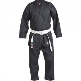 Kimono Plain V-Neck - černé