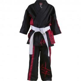 Dětské Kimono Samurai Sam - černé