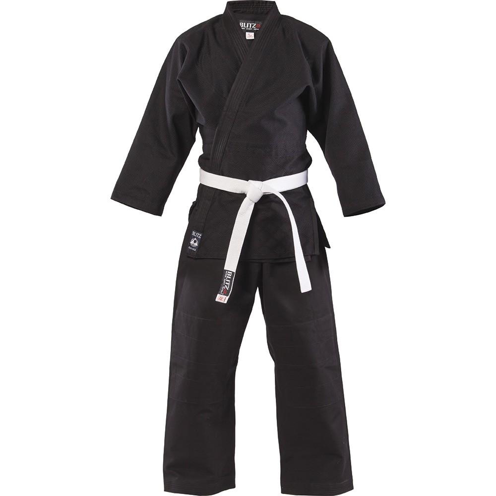 Dětské Kimono BLITZ judo Student - černé