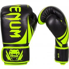 Boxerské rukavice VENUM CHALLENGER 2.0. - Neo žluto/černé