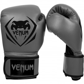 Boxerské rukavice VENUM Contender - Šedé