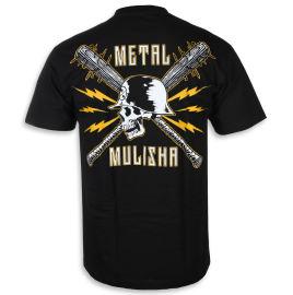 Pánské triko Metal Mulisha BLUNT FORCE - černé
