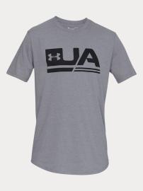 Pánské triko Under Armour Sportstyle Ss Drop Hem - šedé