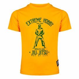Extreme Hobby Triko BJJ - žluté