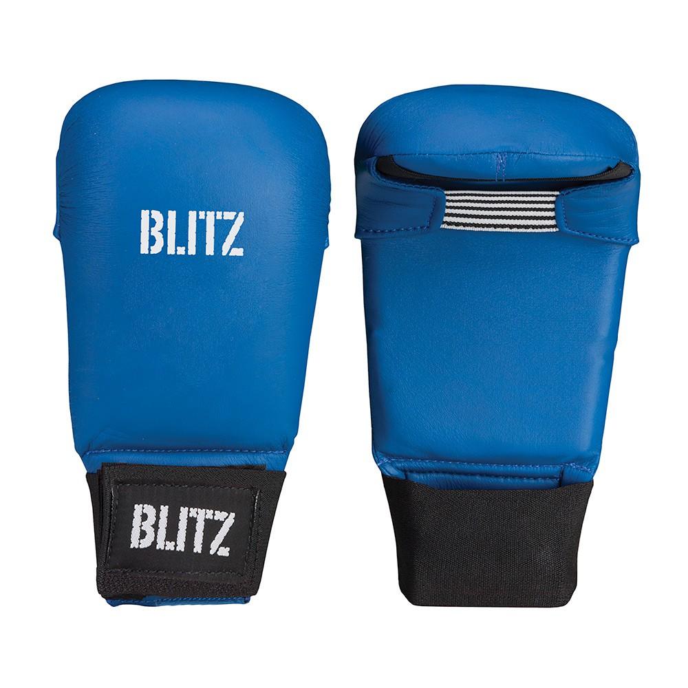 Karate rukavice BLITZ Elite bez palce - modré