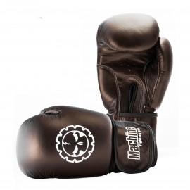 Boxerské rukavice Machine Killer hnědé - Kůže