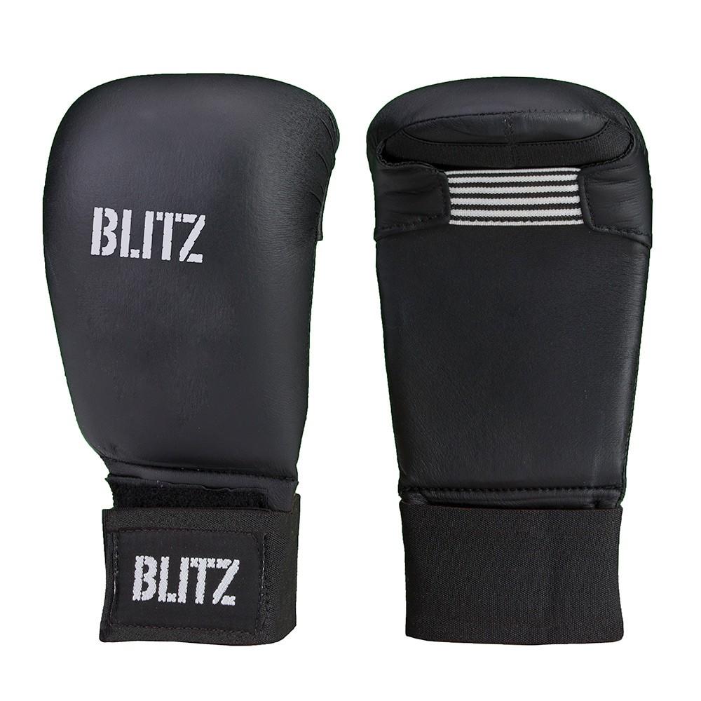 Karate rukavice BLITZ Elite bez palce - černé