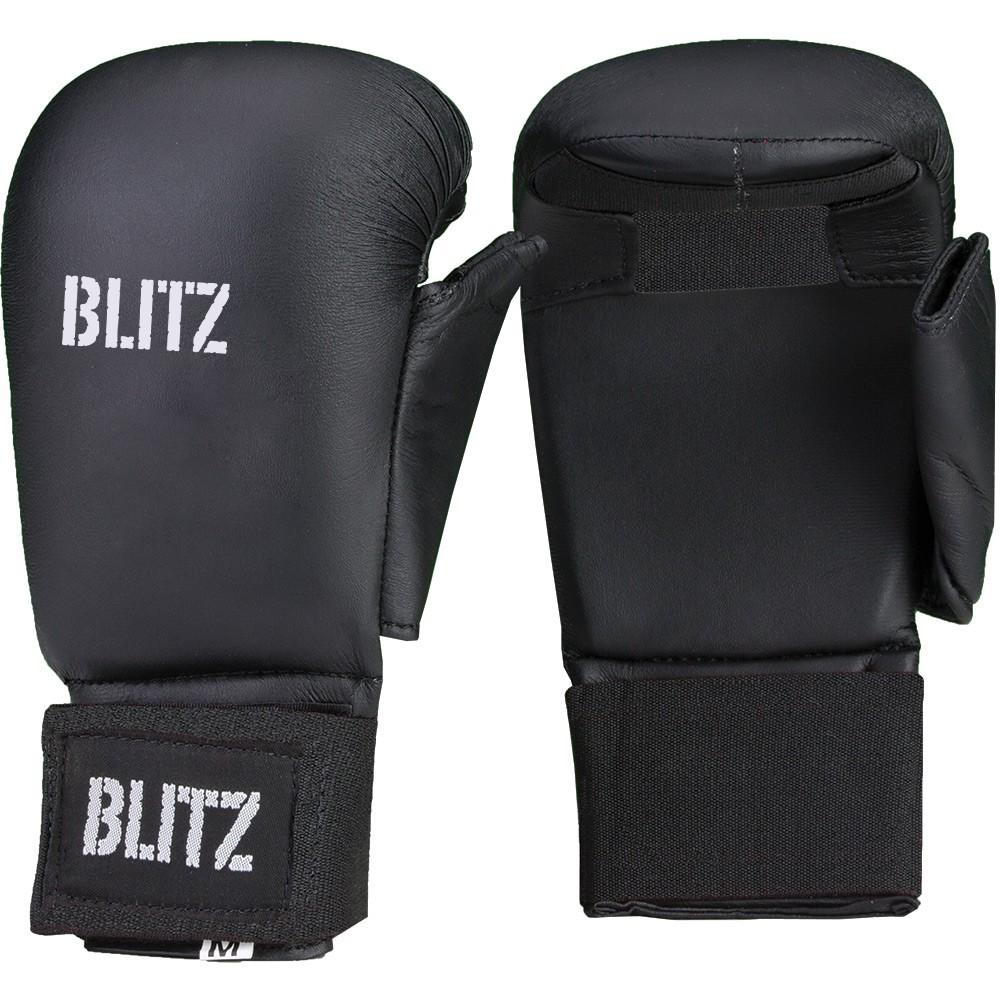 Karate rukavice BLITZ Elite - černé