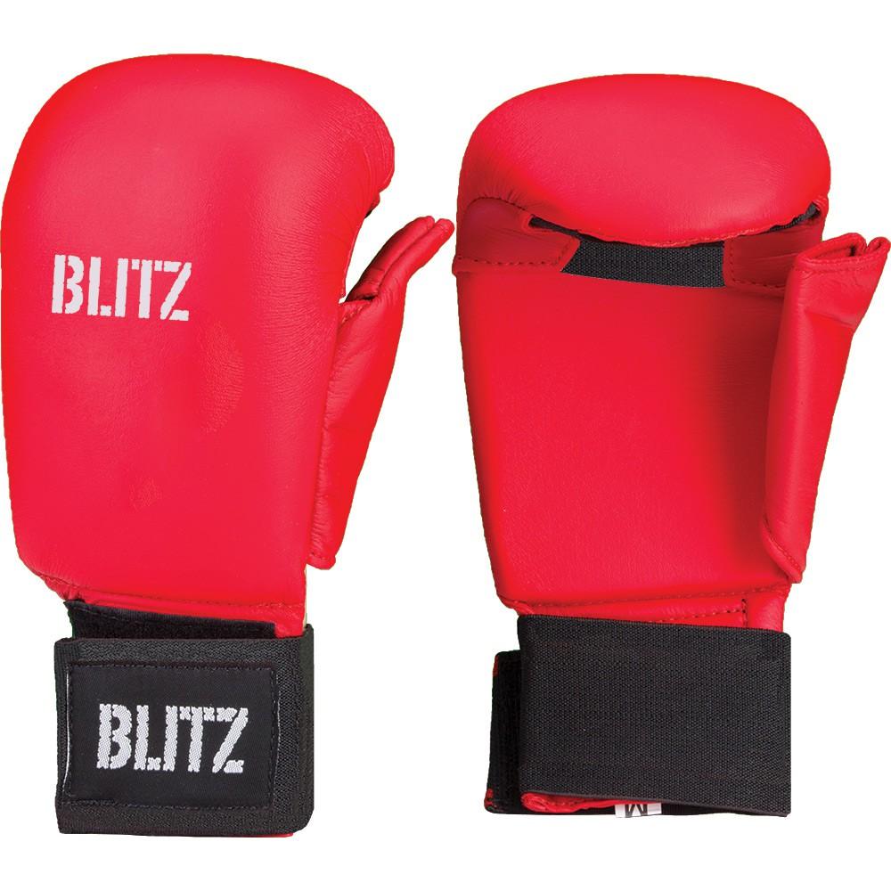 Karate rukavice BLITZ Elite - červené