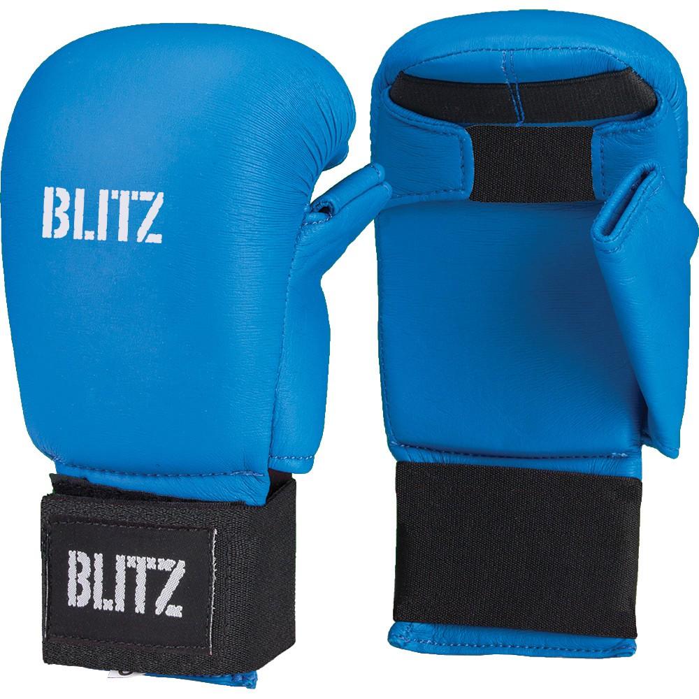 Karate rukavice BLITZ Elite - modré