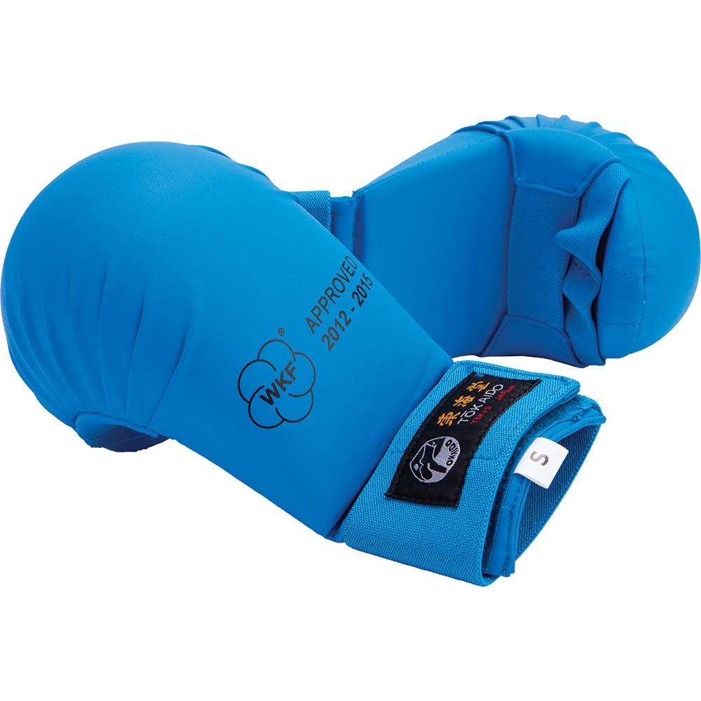 Karate rukavice Tokaido bez palce - modré