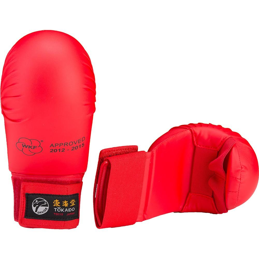 Karate rukavice Tokaido bez palce - červené
