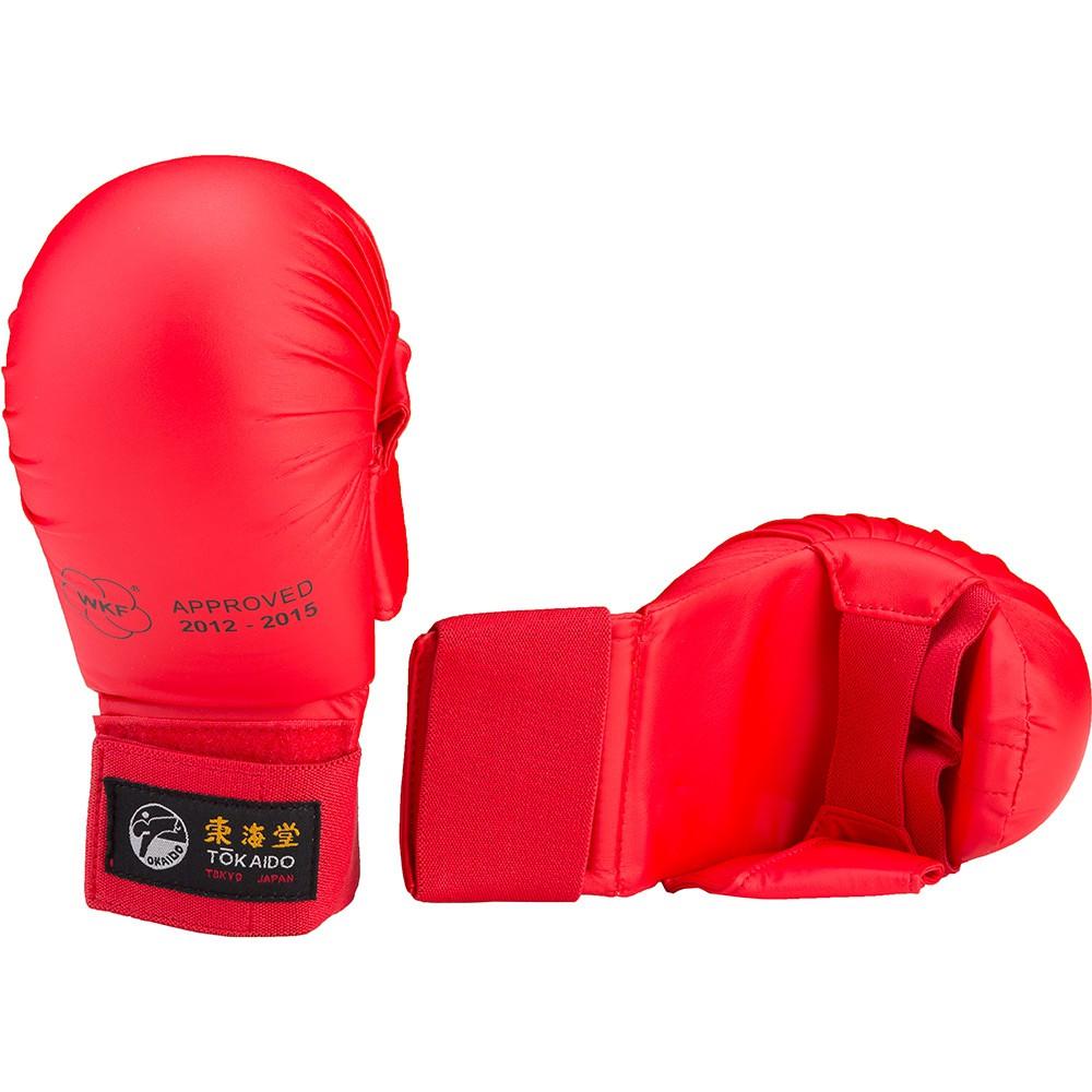 Karate rukavice Tokaido - červené