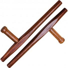Dřevěná Tonfa BLITZ Red Oak