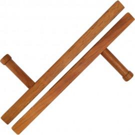 Dřevěná Tonfa BLITZ  Square 20