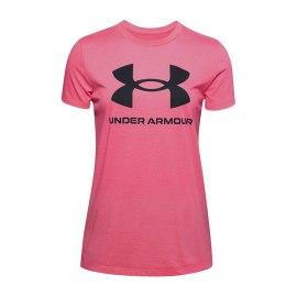 Dámské triko Under Armour Graphic - růžové
