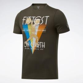 Pánské tričko Reebok CrossFit Fittest On Earth Tee