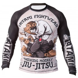 Rashguard TATAMI Fightwear - Thinker Monkey