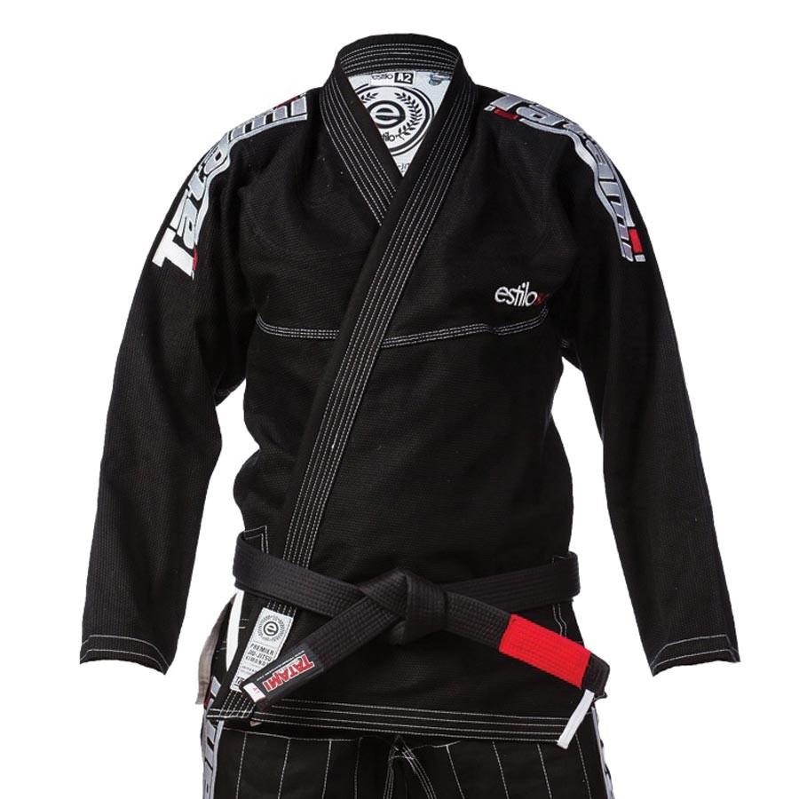 Kimono Tatami Estilo 5.0 Premier BJJ Gi - černo/stříbrné