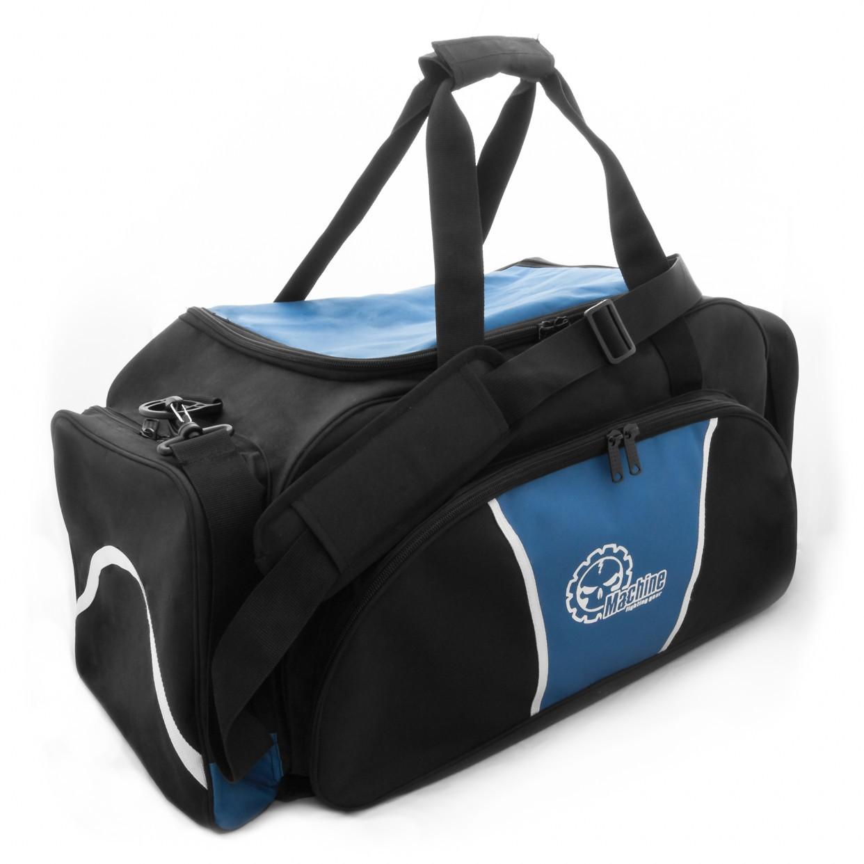Sportovní Taška Machine - černo / modrá