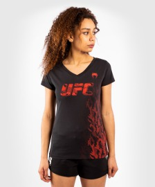 Dámské tričko VENUM UFC Authentic Fight Week - black