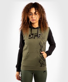 Dámská mikina VENUM UFC Authentic Fight Week - Khaki