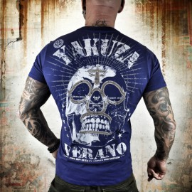 Pánské tričko YAKUZA VERANO - modré