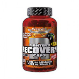 FIGHTERS RECOVERY CAPS+BCAA, 135 KPS, WEIDER