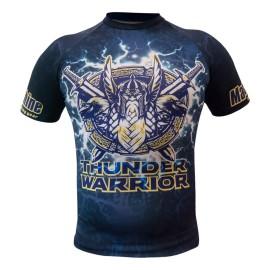 Rashguard MACHINE Thunder Warrior Kr.rukáv