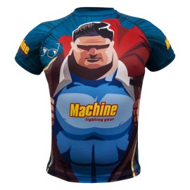 Rashguard MACHINE Super Hero Kr.rukáv