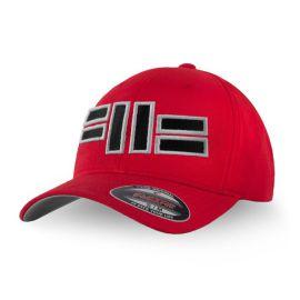 Pánská kšiltovka PitBull West Coast CLASSIC Front Logo - červená