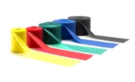 Odporová guma Latex band 0,35 mm - červený