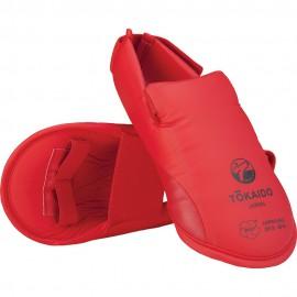 Tokaido - Chránič nártů schválený WKF - červený