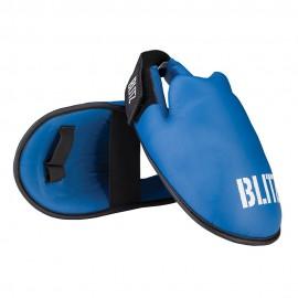 BLITZ Chránič nártů ELITE PU - modrý